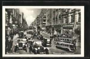 Die Berliner Friedrichstraße, Postkarte aus der NS- Zeit